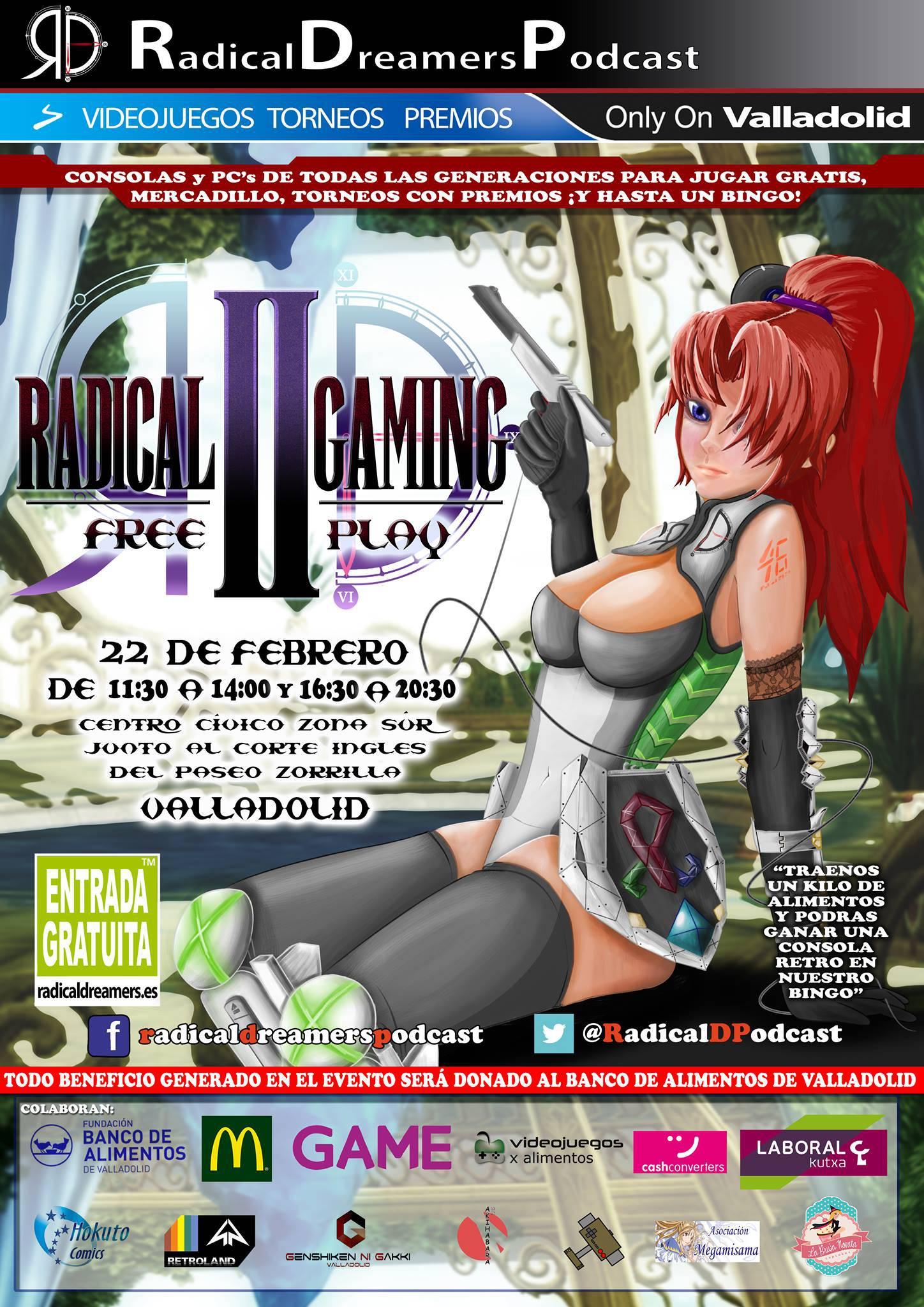 Radical Gaming II y III en Valladolid 2014