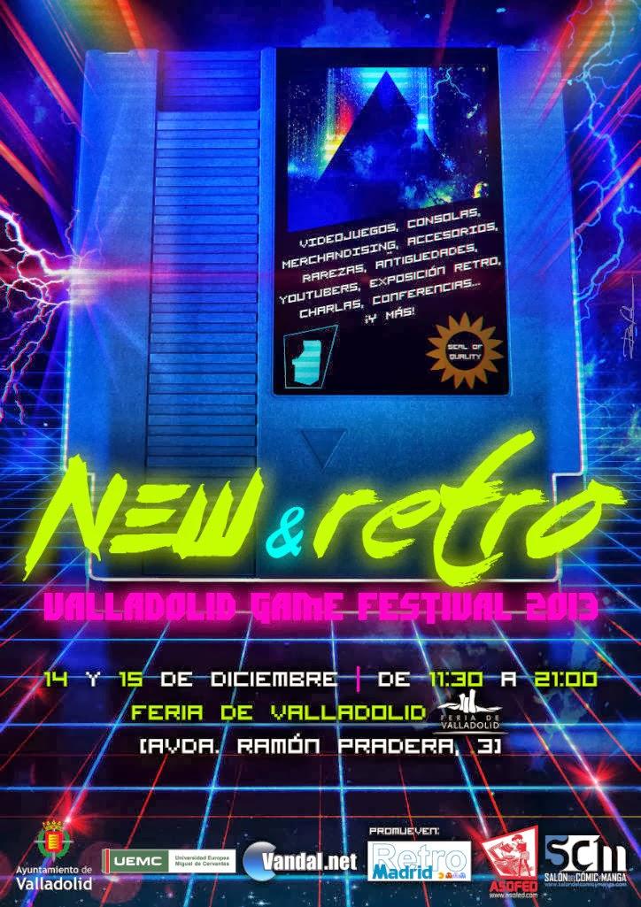 New & Retro Valladolid Game Festival 2013