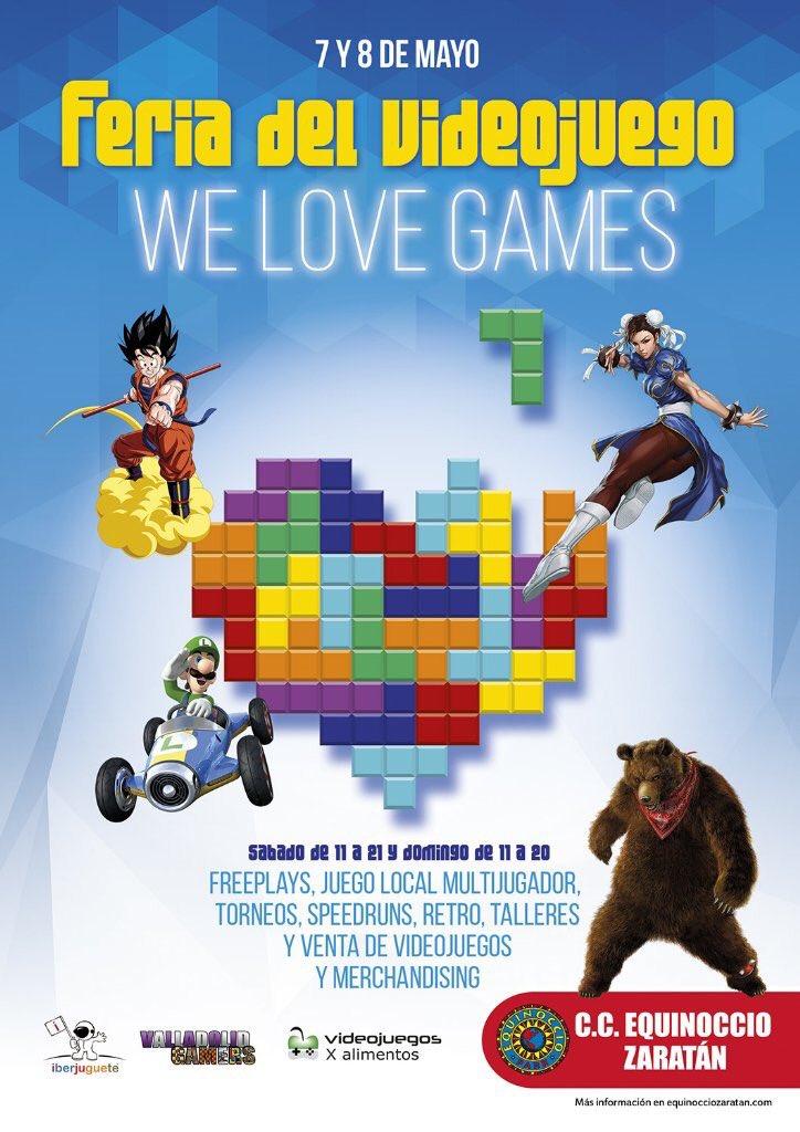 Feria de videojuegos We love games