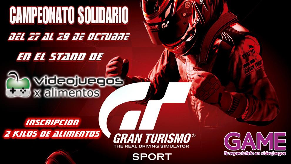 Campeonato solidario Gran Turismo Sport