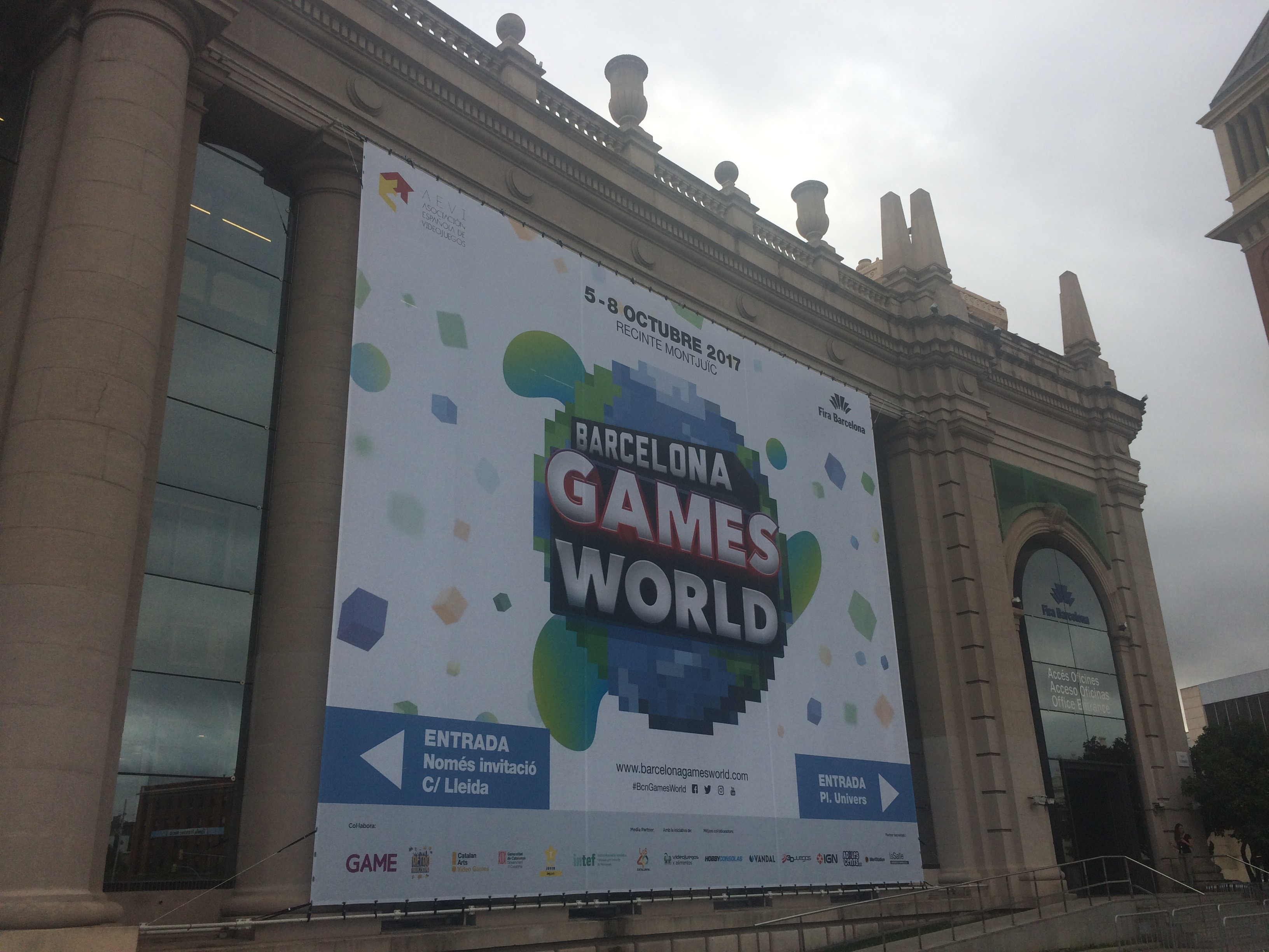 Despues de Barcelona Games World 2017