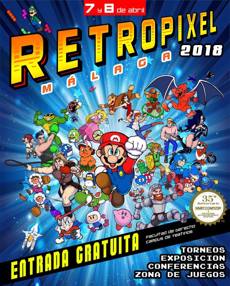 Retropixels 2018 Málaga